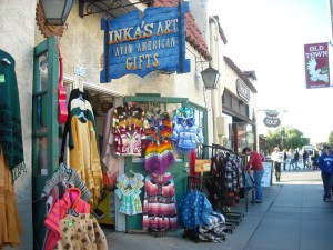 The beauty of colors can help you get in touch with yourself. Take a look at the colorful craft items in San Diego's Old Town!