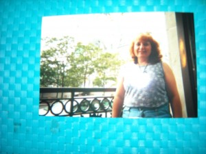 This is a young picture of me, I was in my thirties when this was taken at Disney World.