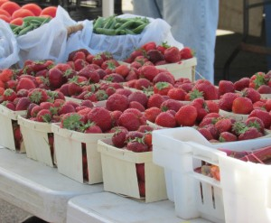 When I need some comfort, I walk through my favorite Farmer's Market breathing in all the sweetness of fresh berries